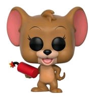 Tom and Jerry - Jerry with Explosive US Exclusive Pop! Vinyl - Ozzie Collectables