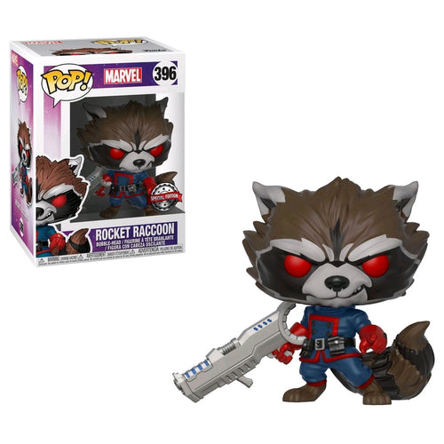 Guardians of the Galaxy - Rocket Raccoon Classic US Exclusive Pop! Viynl - Ozzie Collectables