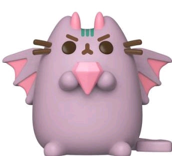 Pusheen - Dragonsheen with Gem US Exclusive Pop! Vinyl - Ozzie Collectables