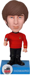 The Big Bang Theory - Howard Star Trek Wacky Wobbler - Ozzie Collectables