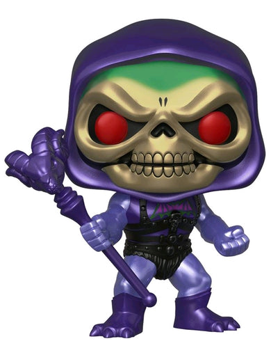 Masters of the Universe - Skeletor Battle Armor Metallic US Exclusive Pop! Vinyl - Ozzie Collectables