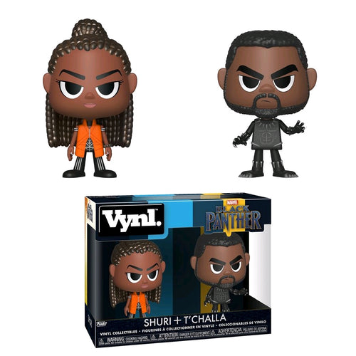 Black Panther - Shuri & T'Challa Vynl. - Ozzie Collectables