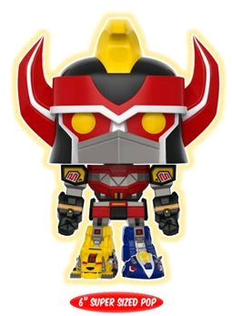 "Power Rangers - Megazord Glow US Exclusive 6"" Pop! Vinyl - Ozzie Collectables"