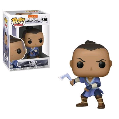 Sokka- Avatar The Last Airbender Animation Pop! Vinyl - Ozzie Collectables