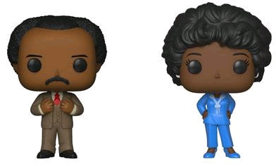 The Jeffersons - George & Louise US Exclusive Pop! Vinyl 2-pack - Ozzie Collectables
