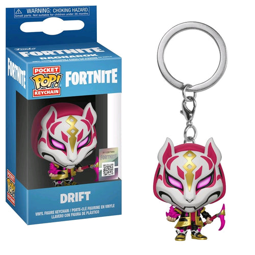 Fortnite - Drift Pocket Pop! Keychain - Ozzie Collectables