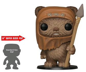 "Star Wars - Wicket W Warrick 10"" US Exclusive Pop! Vinyl - Ozzie Collectables"