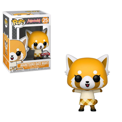 Aggretsuko - Aggretsuko Date Night US Exclusive Pop! Vinyl - Ozzie Collectables