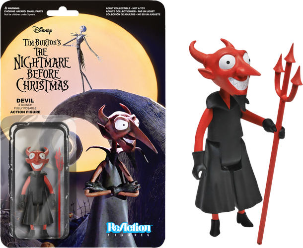 The Nightmare Before Christmas - The Devil ReAction Figure - Ozzie Collectables