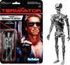 Terminator - T-800 Endoskel Chrome ReAction Figure - Ozzie Collectables