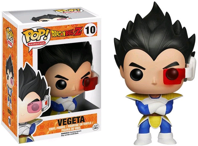 Dragon Ball Z - Vegeta Pop! Vinyl - Ozzie Collectables