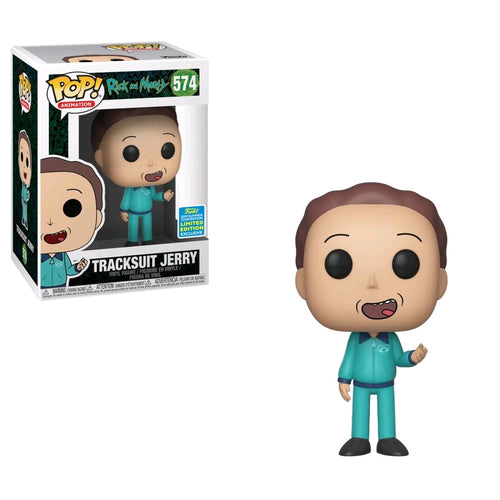 Rick and Morty - Jerry in Track Suit SDCC 2019 US Exclusive Pop! Vinyl - Ozzie Collectables