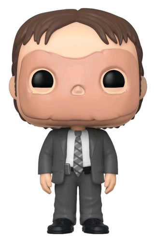 The Office - Dwight with Mask US Exclusive Pop! Vinyl - Ozzie Collectables