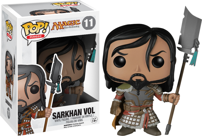Magic the Gathering - Sarkhan Vol Pop! Vinyl - Ozzie Collectables