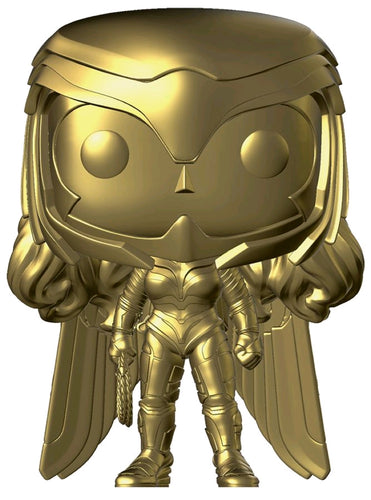 Wonder Woman: 1984 - Wonder Woman Power Pose Gold Chrome US Exclusive Pop! Vinyl - Ozzie Collectables