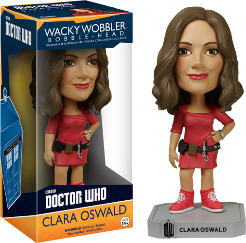 Doctor Who - Clara Oswald Wacky Wobbler - Ozzie Collectables