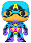 Captain America - Captain America Black Light US Exclusive Pop! Vinyl - Ozzie Collectables