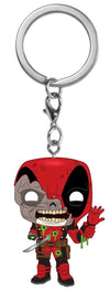 Marvel Zombies - Deadpool Pocket Pop! Keychain - Ozzie Collectables