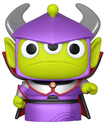 Pixar - Alien Remix Zurg Metallic US Exclusive Pop! Vinyl - Ozzie Collectables