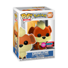 Growlithe Flocked - Pokemon New York Comic Con Exclusive POP! Vinyl
