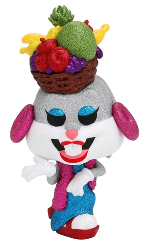 Looney Tunes - Bugs Fruit Hat Diamond Glitter US Exclusive Pop! Vinyl