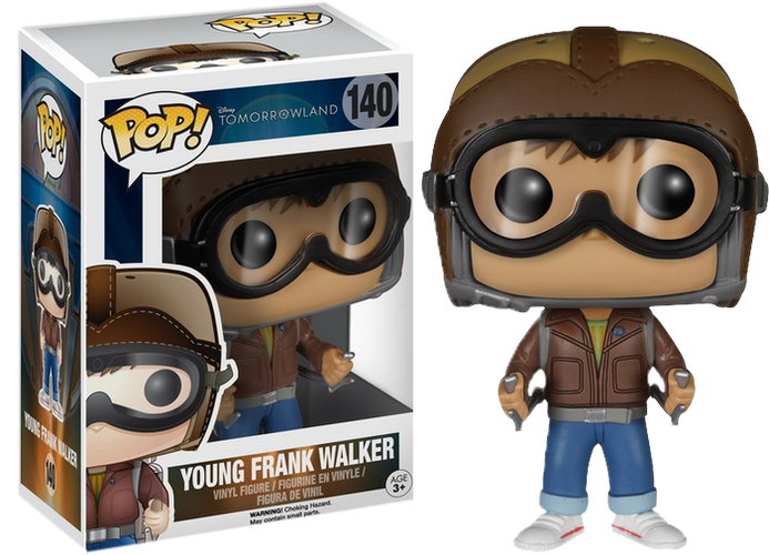 Tomorrowland - Young Frank Walker Pop! Vinyl - Ozzie Collectables