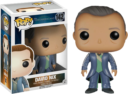 Tomorrowland - David Nix Pop! Vinyl - Ozzie Collectables