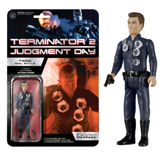 Terminator 2: Judgement Day - T-1000 Final Battle US Exclusive ReAction Figure