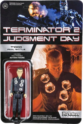 Terminator 2: Judgement Day - T-1000 Final Battle US Exclusive ReAction Figure - Ozzie Collectables