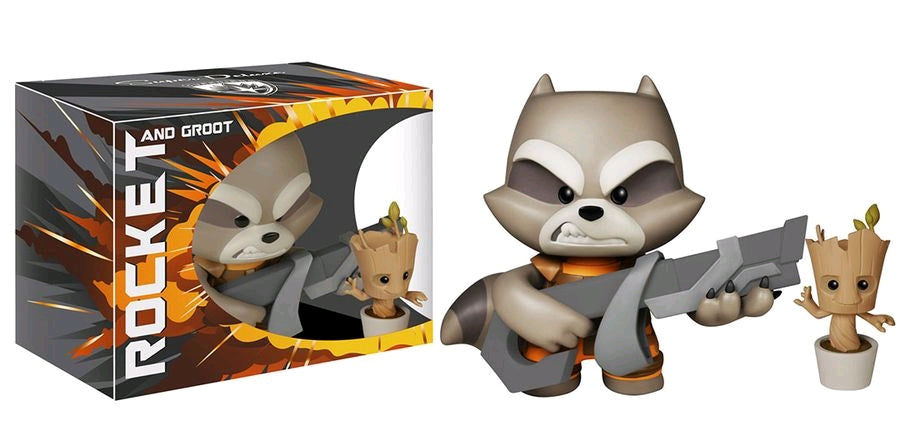 Guardians of the Galaxy - Rocket Super Deluxe Vinyl Figure - Ozzie Collectables
