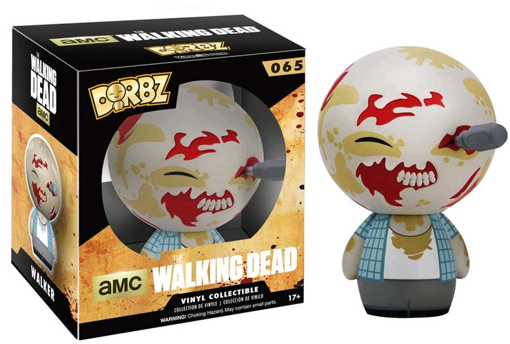 The Walking Dead - Walker Dorbz - Ozzie Collectables