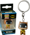 Batman - 75th Anniversary Yellow US Exclusive Pocket Pop! Keychain - Ozzie Collectables