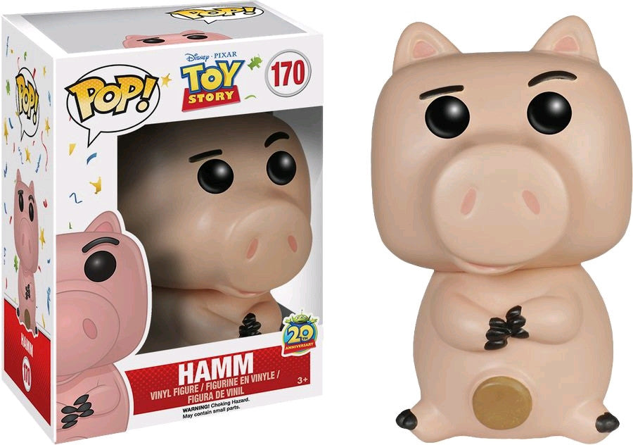 Toy Story - Hamm Pop! Vinyl on Ozzie Collectables