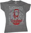 True Blood - Fangbanger Flocked Female T-Shirt XL - Ozzie Collectables