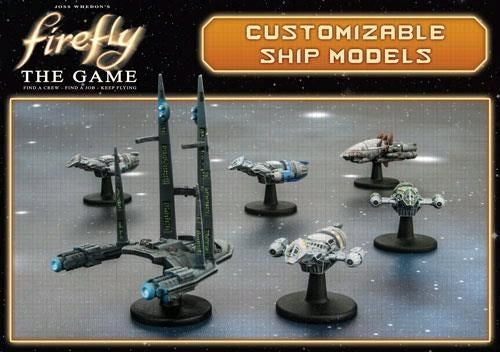 Firefly - The Game Customisable Ship Models - Ozzie Collectables