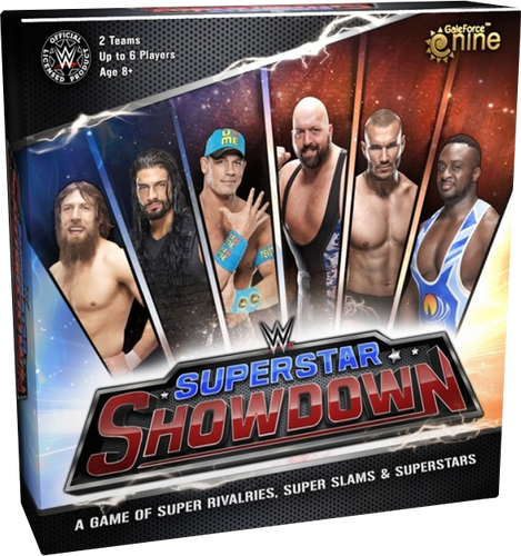 WWE - Superstar Showdown Board Game - Ozzie Collectables
