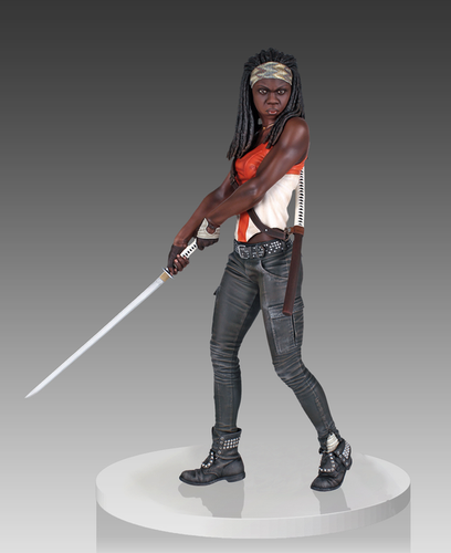 The Walking Dead - Michonne Statue - Ozzie Collectables