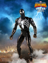"Spider-Man - Spider-Man Black Costume 1:6 Scale 12"" Jumbo Kenner Action Figure - Ozzie Collectables"
