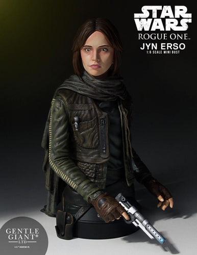Star Wars: Rogue One - Jyn Erso Mini Bust - Ozzie Collectables