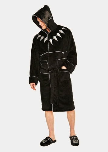 Black Panther - Fleece Bathrobe - Ozzie Collectables