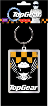 Top Gear - Yellow and Black Keyring - Ozzie Collectables