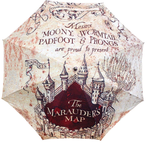 Harry Potter - Marauders Map Umbrella - Ozzie Collectables