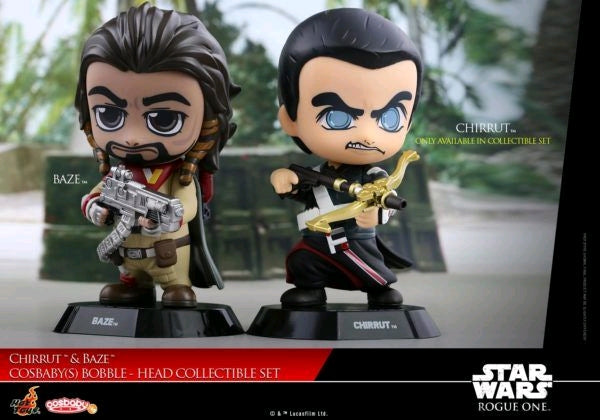 Star Wars: Rogue One - Chirrut & Baze Cosbaby Set - Ozzie Collectables