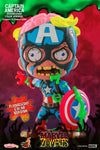 Marvel Zombies - Captain America Fluorescent Cosbaby