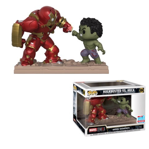 Avengers 2 - Hulkbuster Vs Hulk Movie Moments Pop! Vinyl 2018 New York Fall Convention Exclusive