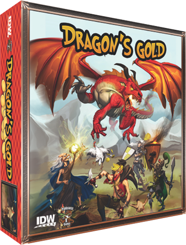 Dragon's Gold - Board Game - Ozzie Collectables