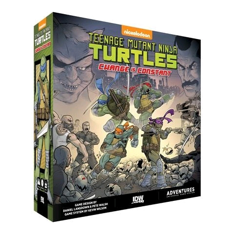 Teenage Mutant Ninja Turtles - Change is Constant Board Game - Ozzie Collectables