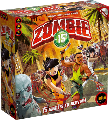 Zombie 15' - Board Game - Ozzie Collectables