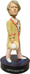 Doctor Who - Fifth Doctor Bobble Head with Light Base - Ozzie Collectables