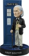 Doctor Who - First Doctor with TARDIS Bobble Head - Ozzie Collectables